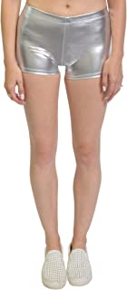 Stretch is Comfort Girl's and Women's NYLON SPANDEX Stretch Booty Shorts