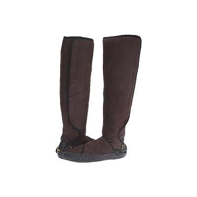 Vibram FiveFingers Furoshiki Shearling Boot (Dark Brown) Women