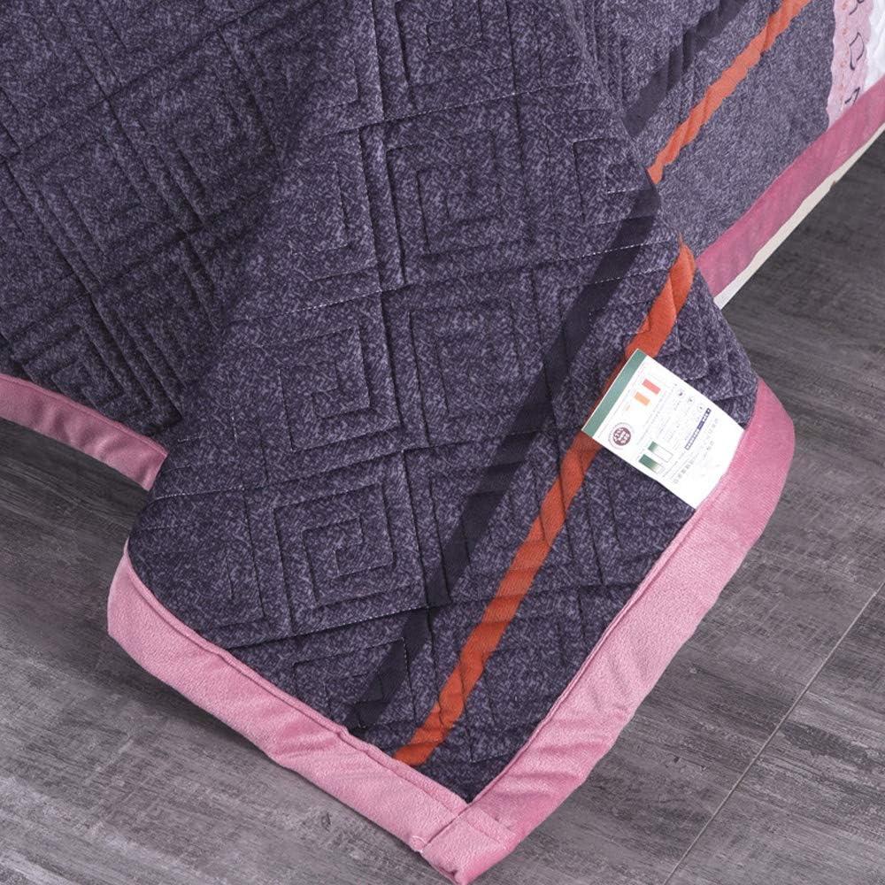 YZT QUEEN Couverture, Couverture imprimée Douce et Confortable, Couverture de lit en Velours de Cristal Chaud et épais, Convient au lit et au canapé L