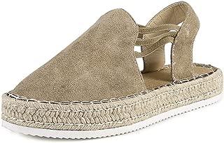 FRENDLY Women Sandals Summer Retro Peep Toe Sandals Fashion Buckle Strap Wedges Platform Comfort Sandal