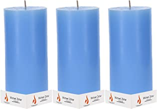 Pillar Candle 3x6 Hand Dipped Pillar Candle for Wedding, Ceremonies, Dinners and Romantics,