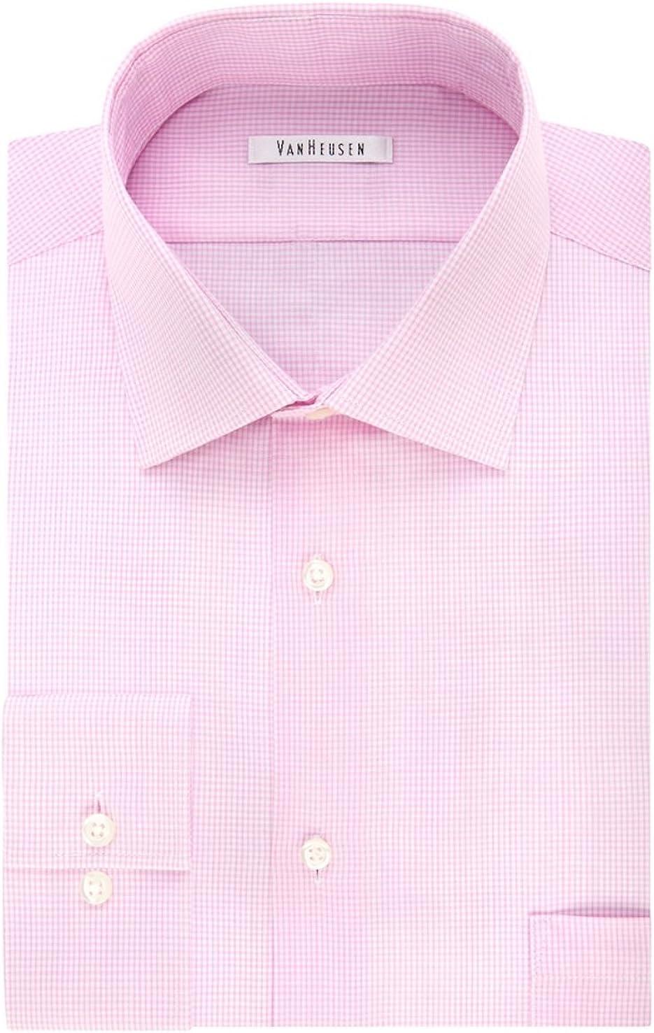 Van Heusen Men's Big & Tall Flex-Collar Dress Shirt