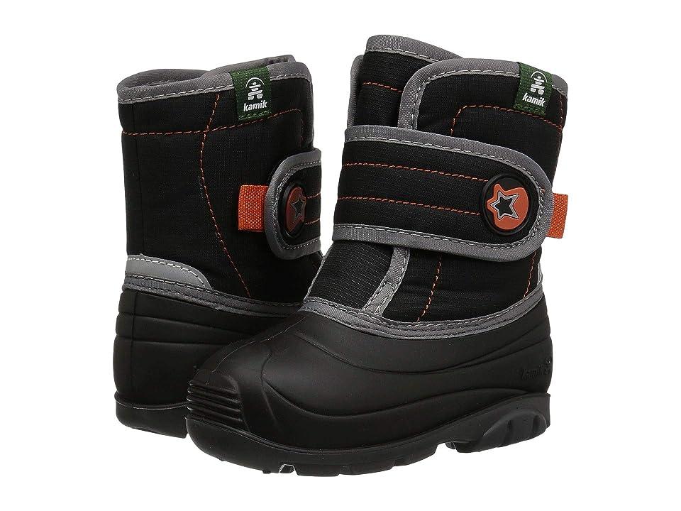 Kamik Kids Snugglebug (Toddler) (Black) Boys Shoes