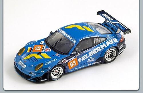envío rápido en todo el mundo Spark Model S3421 S3421 S3421 Porsche 997 GT3 RSR N.63 LM 2011 1 43 MODELLINO Die Cast Model Compatible con  oferta de tienda