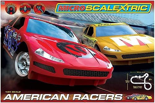 hasta un 70% de descuento Scalextric Micro American American American Racers  suministramos lo mejor