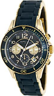 Marc by Marc Jacobs Rock Chronograph Matte Teal Womens Watch MBM2597