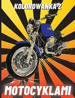 Kolorowanka z Motocyklami: Ciężkie motocykle wyścigowe, klasyczne retro, dirt bike i sportowe motocykle do kolorowania dla...