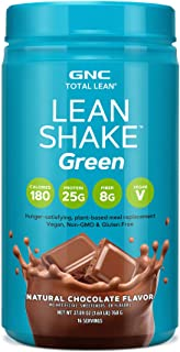 GNC Total Lean LeanShake Green - Natural Chocolate