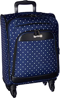 Navy/White Polka Dot