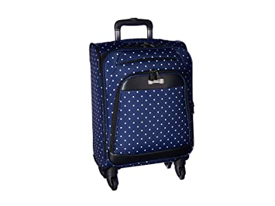 Kenneth Cole Reaction Dot Matrix Collection Two-Piece Set (Carry-On Tote) (Navy/White Polka Dot) Luggage