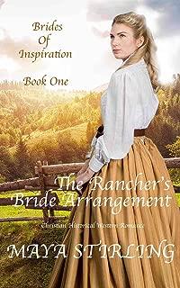 The Rancher's Bride Arrangement (Christian Historical Western Romance) (Brides of Inspiration series Book 1)