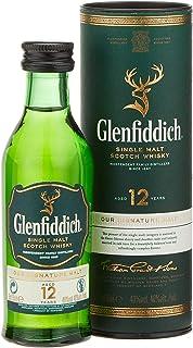 Glenfiddich 12 Years Old Whisky mit Geschenkverpackung 1 x 0.05 l