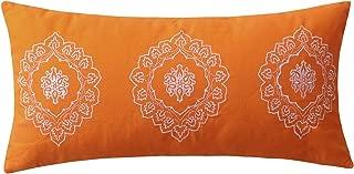 Greenland Home Medina Pillow, 12x24 inches, Saffron
