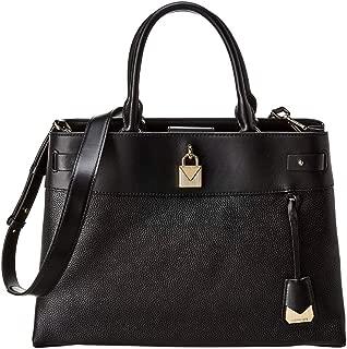 Michael Michael Kors Gramercy Large Leather Satchel, Black