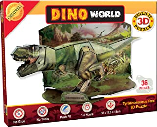 Cheatwell Build-It 3D Tyrannosaurus Dinosaur Puzzle