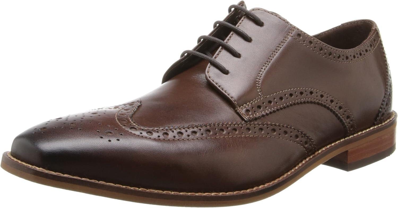 Florsheim Men's Castellano Wing Ox Brown Oxford 8.5 3E