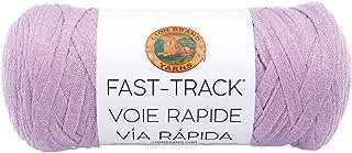 Lion Brand Yarn 521-146 Fast Track Yarn, Purple Train