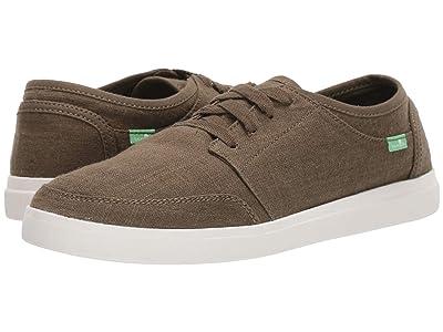 Sanuk Vagabond Lace Sneaker (Dark Olive) Men
