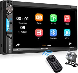 Double Din Car Stereo Receiver, aboutBit Bluetooth 5.0 Car Radio 7 inch Touch Screen Digital Media MP5 Player, Support Mir... photo