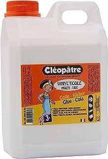 Cléopâtre, Craft Glue para mayores de 3 años, peso 2 kg,
