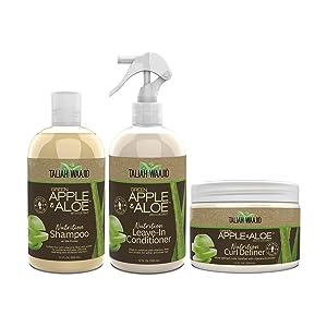 Taliah Waajid Green Apple & Aloe Curly Coily Definer Regimen (T112) (U008) (T124)