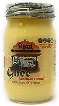 Rani Brand Authentic Indian Products Ghee (mantequilla clarificada) Peso neto. 16 onzas