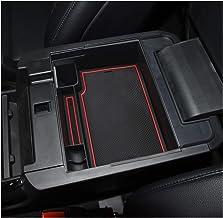 YEE PIN 2020 Explorer - Bandeja organizadora de consola central, reposabrazos, bandeja de almacenamiento secundario, bandeja de materiales ABS compatible con Ford Explorer 2020