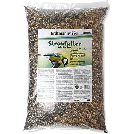 Erdtmanns Aliments à Répandre pour Oiseaux 20 Kg