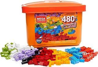 Mega Construx Caja de 480 piezas y bloques de construcción para niños +3 años (Mattel..