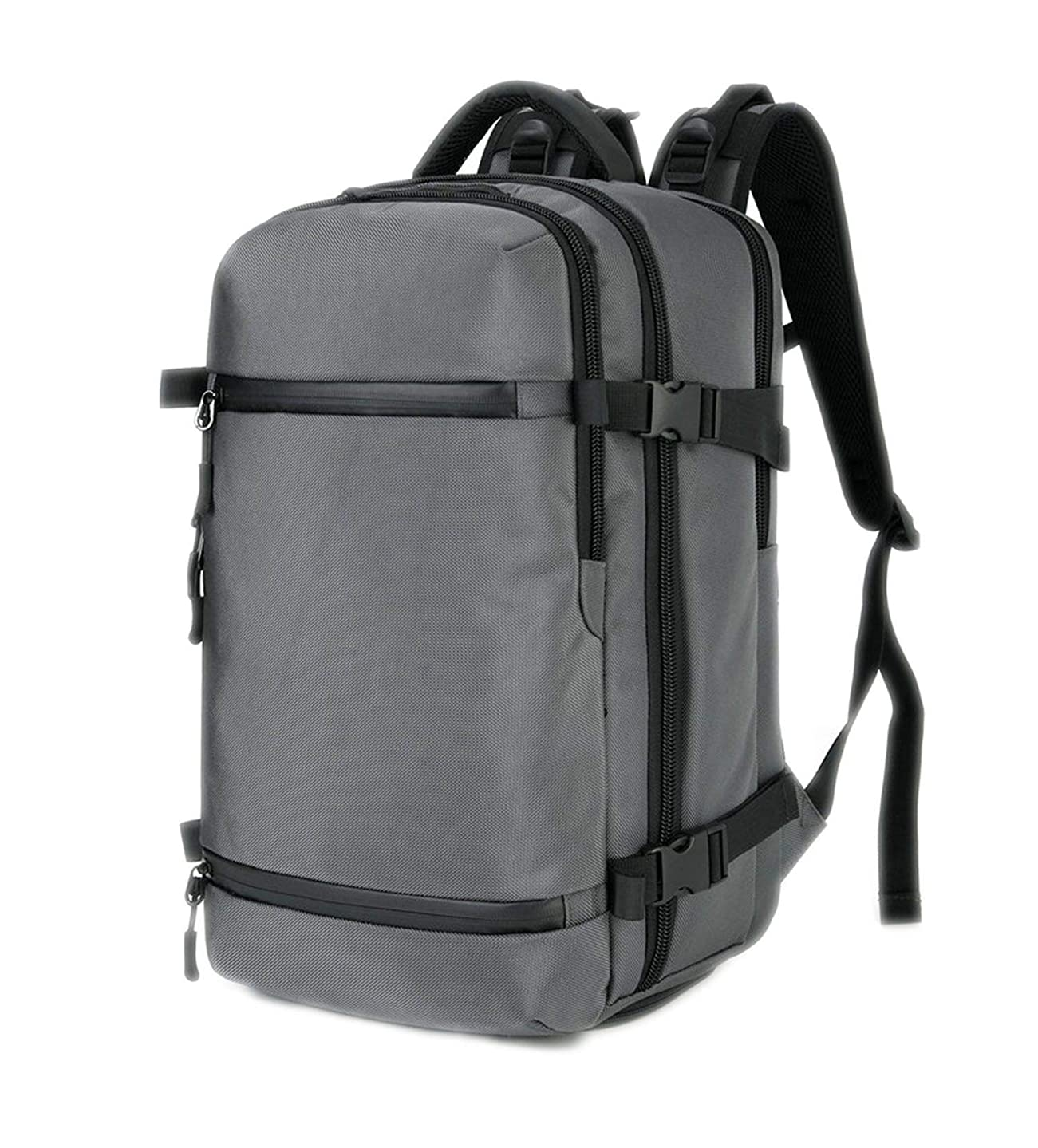 Men Laptop Women Backpack 17.3 Inch Large Capacity Luggage Casual Travel,Grey,20 Inches