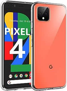 Google Pixel 4 ケース カバー Aerku Pixel 4 ケース クリアスマホカバー 最軽量 TPUソフトシリコン 黄変防止 落下防止 衝撃吸収 指紋防止 滑り止め 透明 Google Pixel 4 5.7インチ 専用 保護カバー クリア