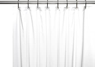 SALT Heavy Gauge PEVA 70-Inch x 84-Inch Shower Curtain Liner in White C45