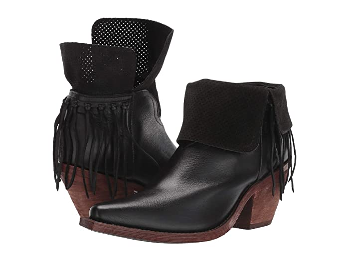 Justin Women's Hope Fringe Ankle Booties
