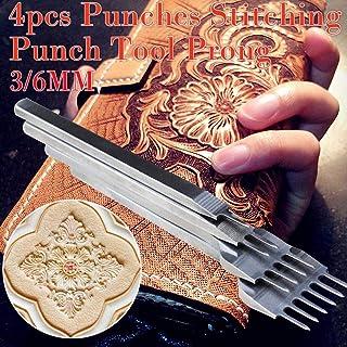 Juman634 DIY Cincel de Cuero Graving Lacing Punch