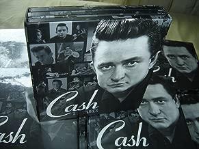 COLLECTORS DREAM Johnny Cash TREASURES / 3 Black Retro LP Design CDs in the box: The Hits, Duets, Gospel Singer / Stunning Collector's Set
