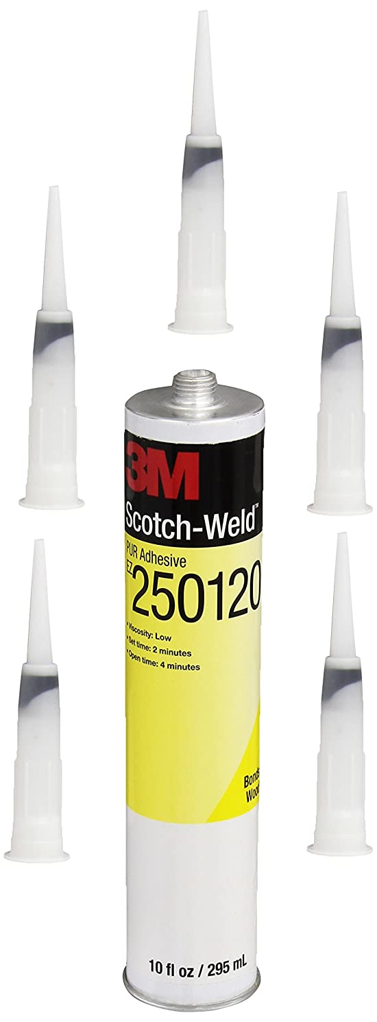 3M Scotch-Weld PUR Easy Adhesive EZ250120, 1/10 gal Cartridge