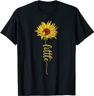 Sun Flower Little Sister Sorority Tee T-Shirt