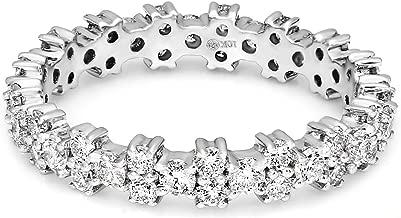 lab grown diamond eternity band