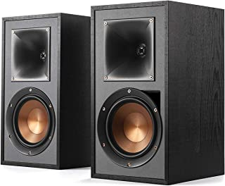 Klipsch R-51PM Powered Bluetooth Bookshelf Speaker (Pair Black)