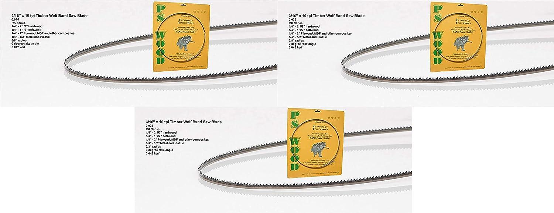 Timber Wolf 70 1 2 x 8 14 tpi Band 迅速な対応で商品をお届け致します 3 Blade Saw ◆高品質