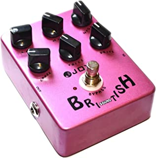 Joyo JF-16 British Sound Effects Pedal with Classic Brit-Rock Era Amp Simulator and Unique Voice Control