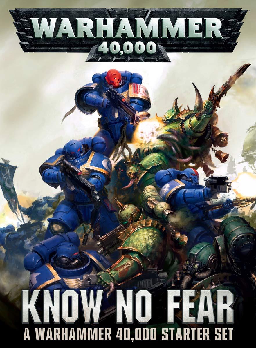 Kit de principiantes de Warhammer 40.000 «Know No Fear»: Amazon.es: Juguetes y juegos