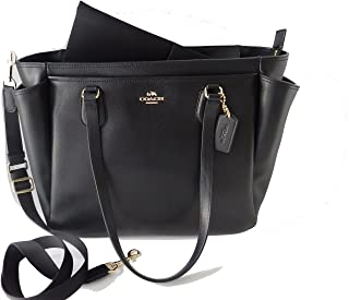 Coach F57786 Large Crossgrain Leather Baby Bag Tote Travel Bag