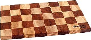 Tagliere a scacchi in legno da cucina - mini