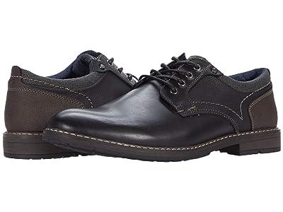 Nunn Bush Fuse Plain Toe Oxford (Black Multi) Men