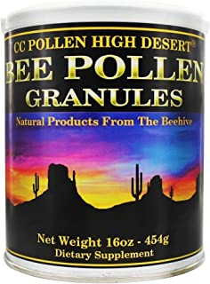 C C Pollen Bee Pollen Granules packed in a tin -- 1 lbs