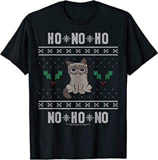 Ho No Ho Ugly Sweater Holiday Graphic T-Shirt