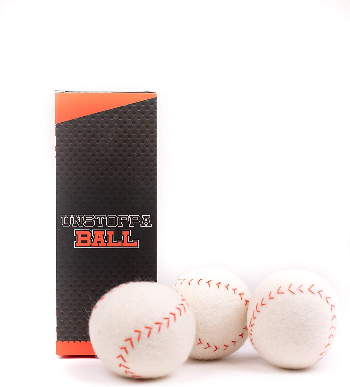 UnstoppaBall | Soft, Durable, Wool, Baseball | Indoor, Outdoor |