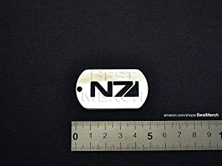 Best Music Posters Mass Effect Necklace Stainless Steel Mass Effect Logo Pendant Symbol