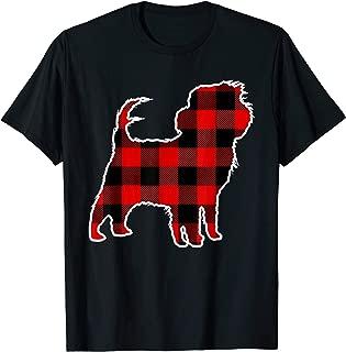 Affenpinscher Red Buffalo Plaid Pet Matching PJ Family Gift T-Shirt